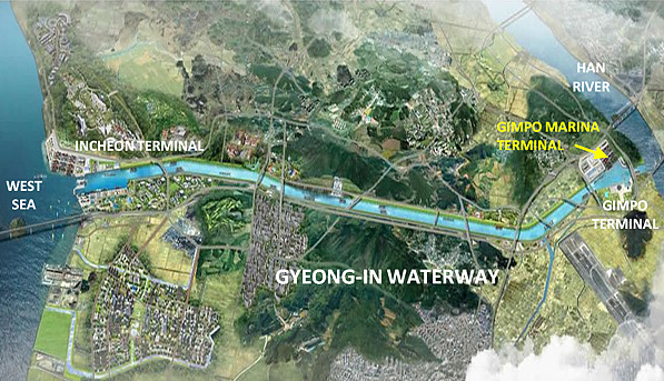 Gyeong-In Waterway & Gimpo Terminal