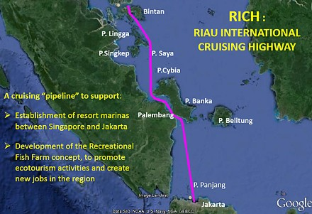 The Riau International Cruising Highway concept